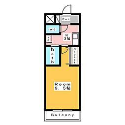 A・City大浜[3階]の間取り