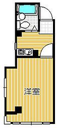 メゾン武蔵小山[1階]の間取り