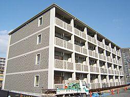 京都府京都市伏見区横大路鍬ノ本の賃貸マンションの外観