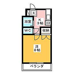 シーサイド21[2階]の間取り