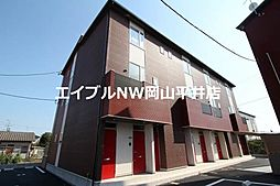岡山電気軌道東山本線 門田屋敷駅 徒歩32分の賃貸アパート