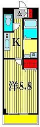 仮)十太夫マンション[2階]の間取り