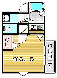 グランシャリオ双葉[4階]の間取り