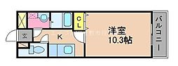 岡山県総社市三輪丁目なしの賃貸マンションの間取り