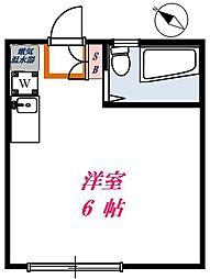 コーポミヤザキ[103号室]の間取り