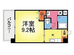 ビエンナーレ七隈[2階]の間取り