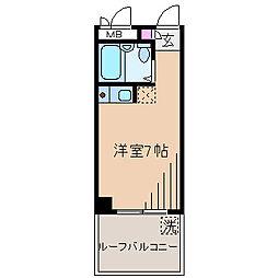第10菊池ビル アビタシオン大倉山[1階]の間取り