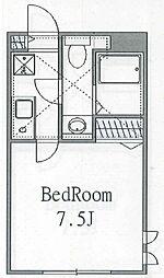 セントヴィレッジII[102号室]の間取り