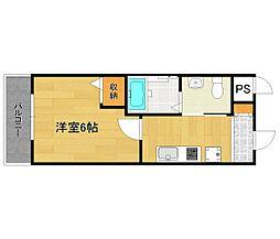 TST稲野駅前[2階]の間取り