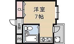ハウスパシフィック[403号室号室]の間取り