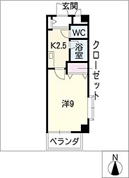 MATSU BILL[1階]の間取り