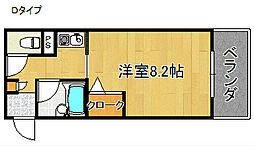 りんくうりんくす[4階]の間取り