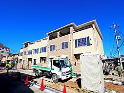 埼玉県新座市東1丁目の賃貸アパートの外観