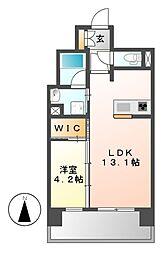 セレニティー大須[12階]の間取り