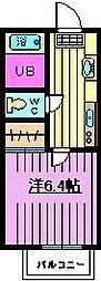 キャメル戸塚南[1階]の間取り