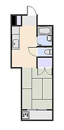 シティコーポパルナス東村山[2階]の間取り