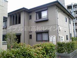 香川県高松市屋島西町の賃貸アパートの外観