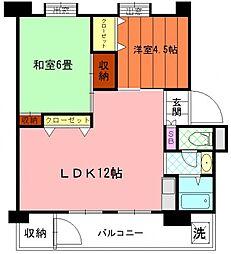 向原第2住宅6号棟[5階]の間取り