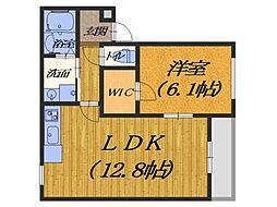 (仮称)フジパレス堺市西区鳳南町 1階1LDKの間取り
