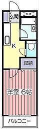 芝崎ビル[3階]の間取り