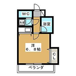 聖護院谷口マンション[3階]の間取り