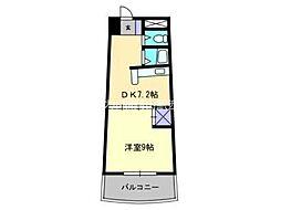 エクセルメゾン岡山[2階]の間取り