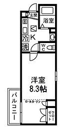 テルトルルージュIII(テルトルルージュ3)[2階]の間取り
