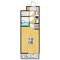 第1みやぎビル[316号室]の間取り