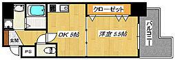 宿院西TKハイツ1号館[7階]の間取り
