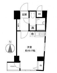 コスモ東池袋[6階]の間取り