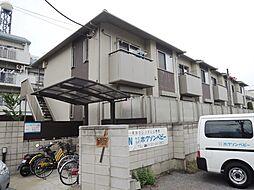 埼玉県川口市元郷5丁目の賃貸アパートの外観