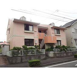 静岡県藤枝市駿河台の賃貸アパートの外観
