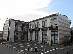東京都町田市金森7丁目の賃貸アパートの外観