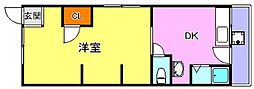 円応荘[2階]の間取り