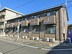 滋賀県湖南市平松北1丁目の賃貸アパートの外観