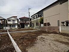 キレイな区画に理想の家を建ててください