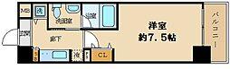 大阪府大阪市西区京町堀2丁目の賃貸マンションの間取り