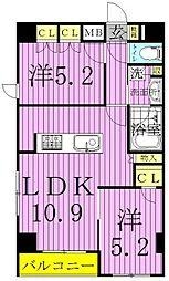 仮称)西新井大師マンション[5階]の間取り
