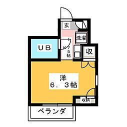 エトワール本庄第2[2階]の間取り