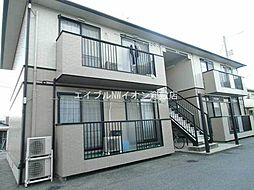 岡山県倉敷市上富井丁目なしの賃貸アパートの外観