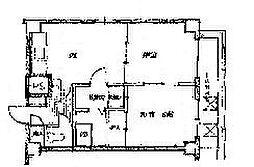 ポートサイドアベニュー123[8階]の間取り