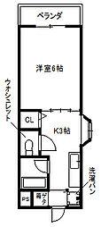 土居駅 徒歩6分2階Fの間取り画像