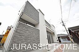 大阪府堺市北区船堂町1丁の賃貸アパートの外観