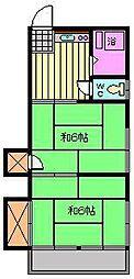 稲垣ハイツ[1階]の間取り