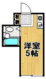 昭和グランドハイツ西九条[6階]の間取り