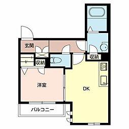 Base K[2階]の間取り