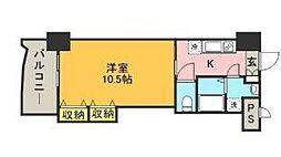ロイヤル博多駅前224[7階]の間取り