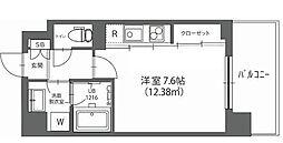 ハウス西横浜[4階]の間取り