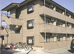 京都府京田辺市大住小林の賃貸マンションの外観