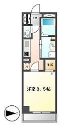 カスタリア新栄II[3階]の間取り